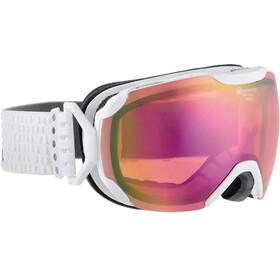 Alpina Pheos S QMM SPH goggles S2 roze/wit